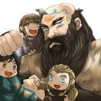 The Hobbit: Babysitter by caylren