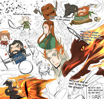 The Desolation of Smaug Report by caylren