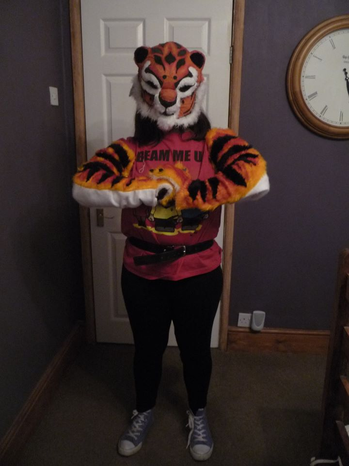 tigress cosplay fursuit part 2 arms and gloves by namine903