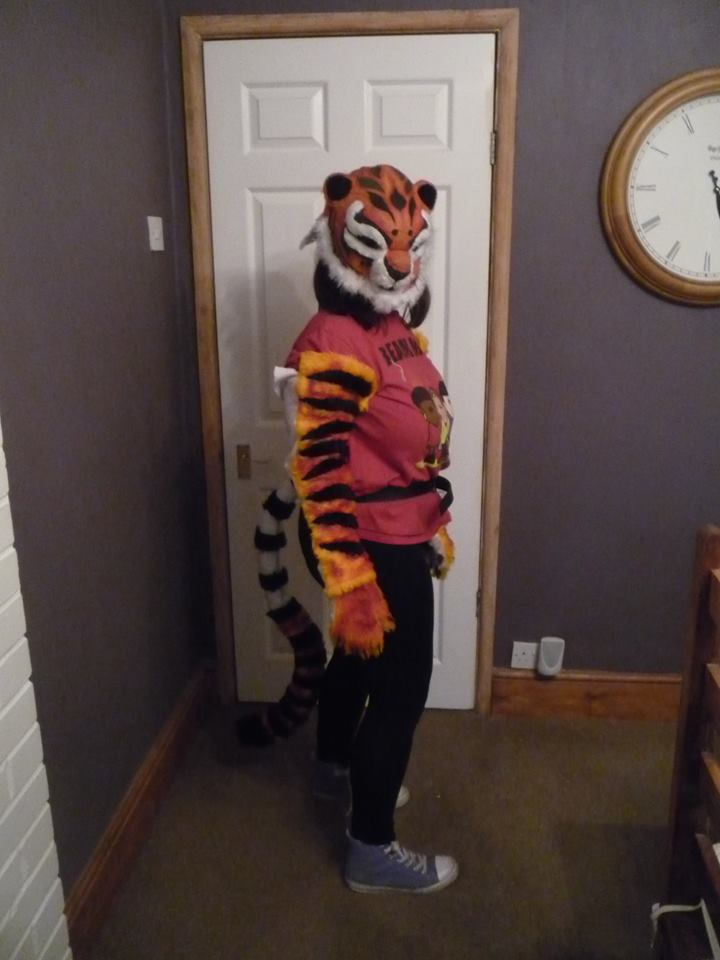 tigress fursuit cosplay part 3 tail by namine903