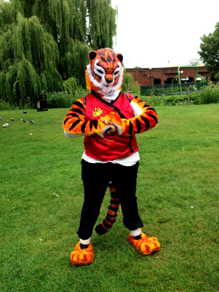 Tigress kung fu panda fursuit cosplay by namine903