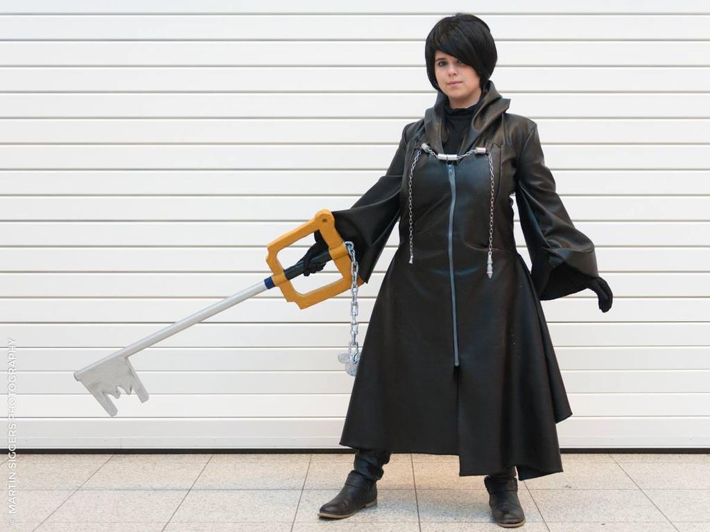 Xion cosplay kingdom hearts! by namine903
