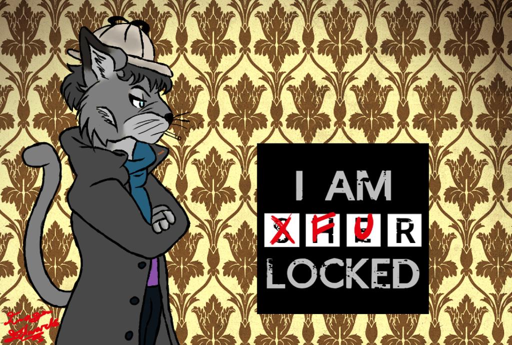 furlocked! (sherlock and furry fandoms combine) by namine903