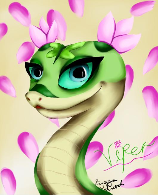 Viper (kung fu panda) by namine903