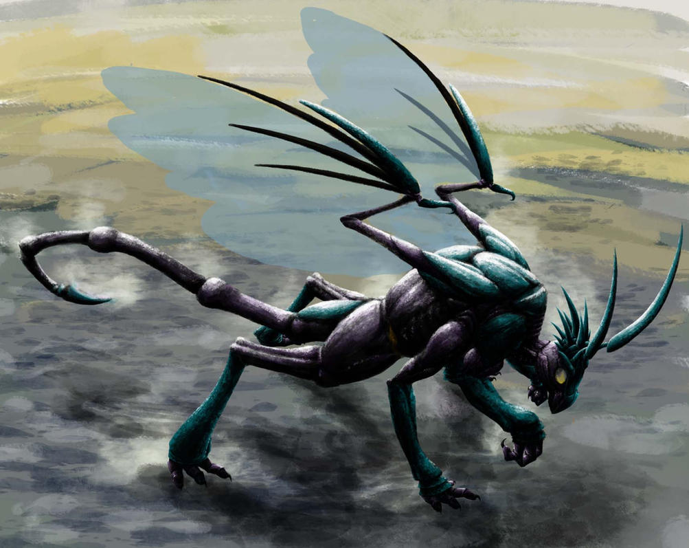 Wasp Dragon2 by uhuco