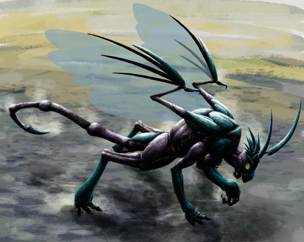 Wasp Dragon2 by rubinenauge