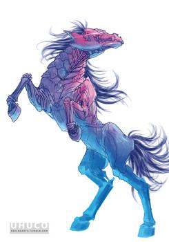Horse CMYK
