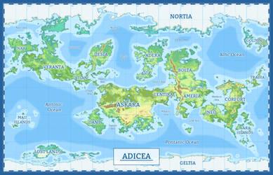 Map of Adicea