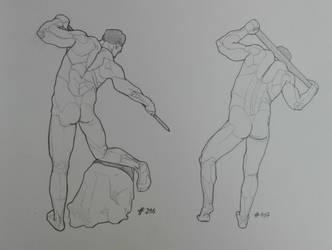 Daily anatomy #13 by MiyoTheCreator