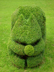 Squirrel Topiary by ButterflyJewel