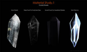 Material Study.1 [Crystal Shards]