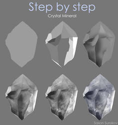 Step by step - Crystal Mineral