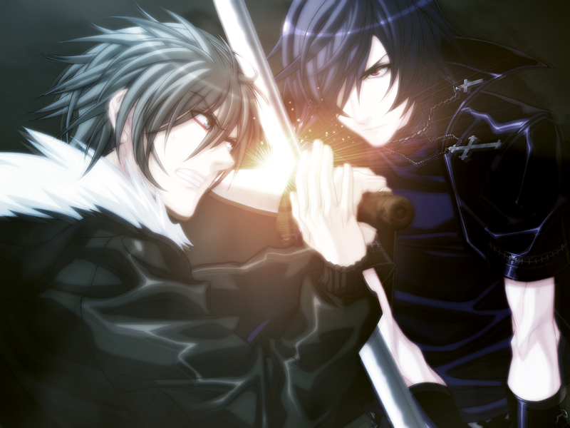 Shiki vs. Akira by smilegirl1000