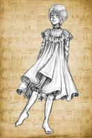 ~ sketch ~ Victorian underclothes by Clef-en-Or