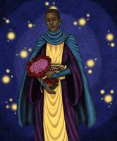 Kingsley Shacklebolt's solemnity by Clef-en-Or