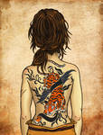 ~Meena/Finnian's tattoo~ RPG Beasts and Barbarians