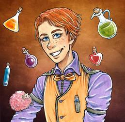 George Weasley by Clef-en-Or