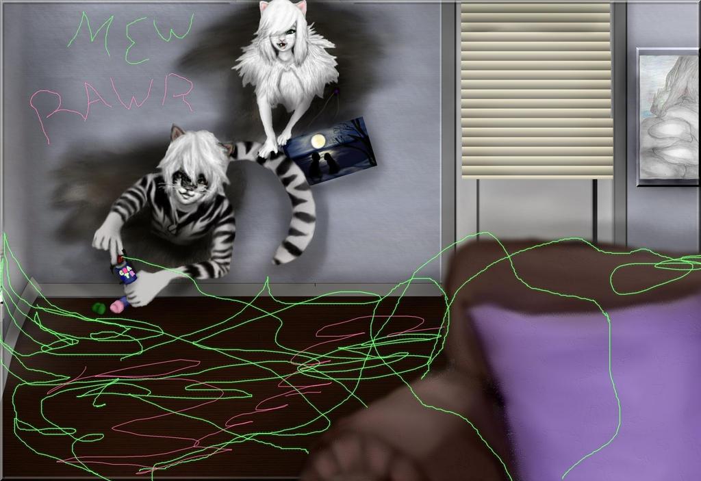 A Furry Break-in by dizzybear17225
