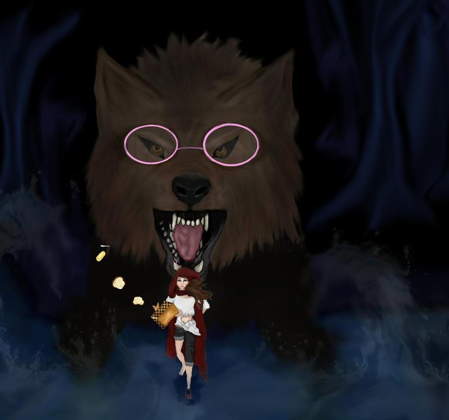Red Riding Hood -RUN- by dizzybear17225
