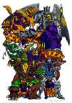 Beast Wars Maximals Color