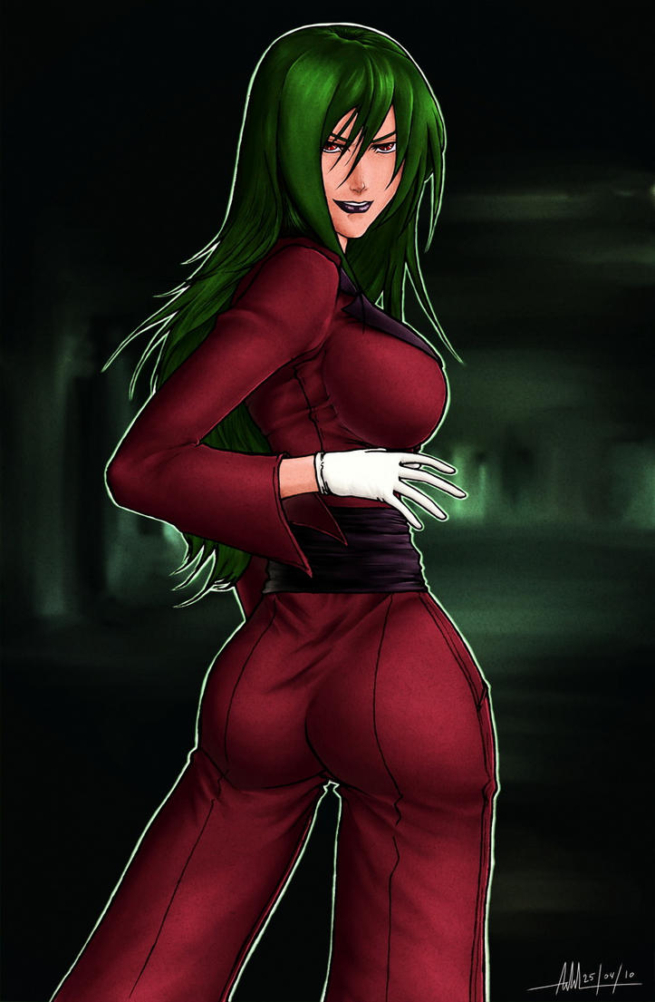 Saki Shinjo by hellsama