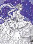 Rococo Princess Serenity (Original for Sale)