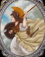Pallas Athena by misellapuella