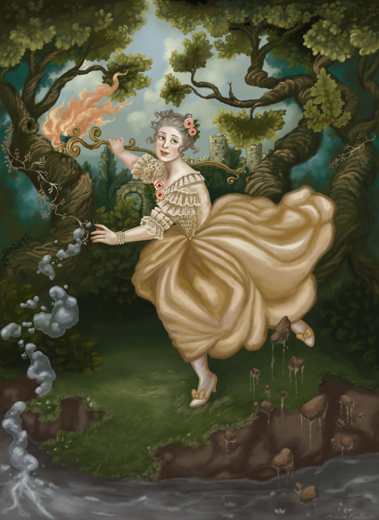 The Elementalist by misellapuella