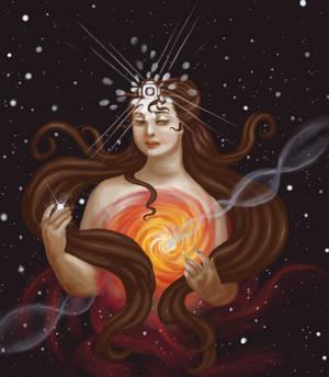 Lady Quasar by misellapuella