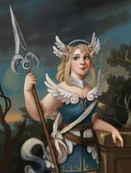[oc] Cecilia portrait