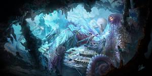 Underwater concept art