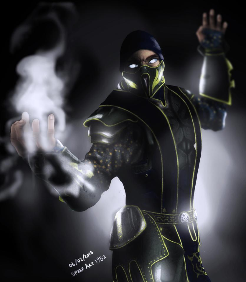 Smoke mortal kombat x