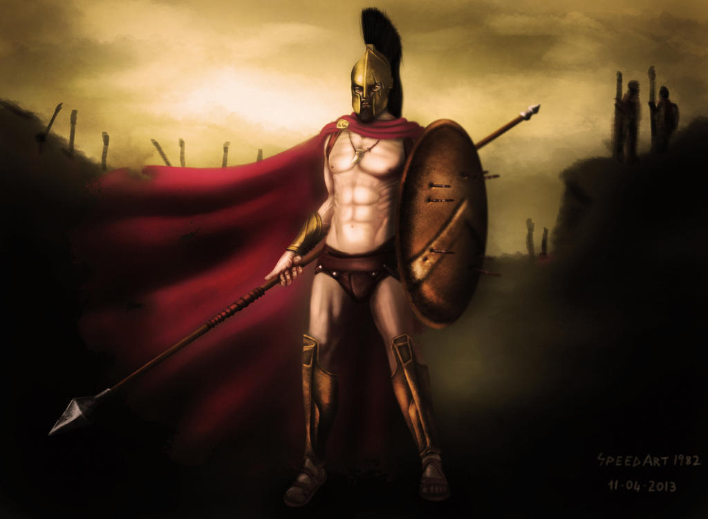 King Leonidas - 300 by SpeedArt1982 on DeviantArt