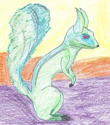 Alien Squirrel by ResurrectedDaemon