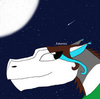 Profile Dragon by Eskoniss