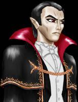 Dracula's Portrait -Classic- by Jorge-D-Fuentes