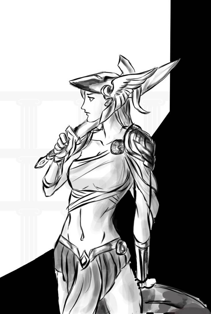 Athena by Discordwizard