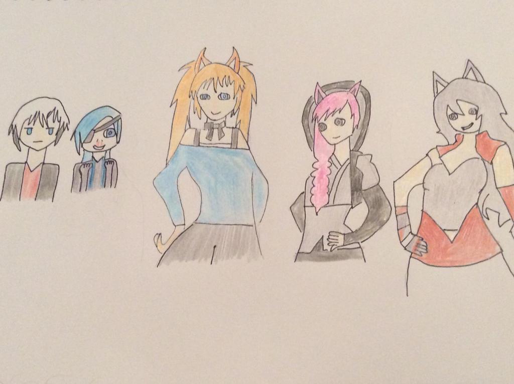 Faunus Girls by DragonKid36
