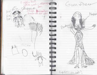 Wires Gun dress by Ashia21