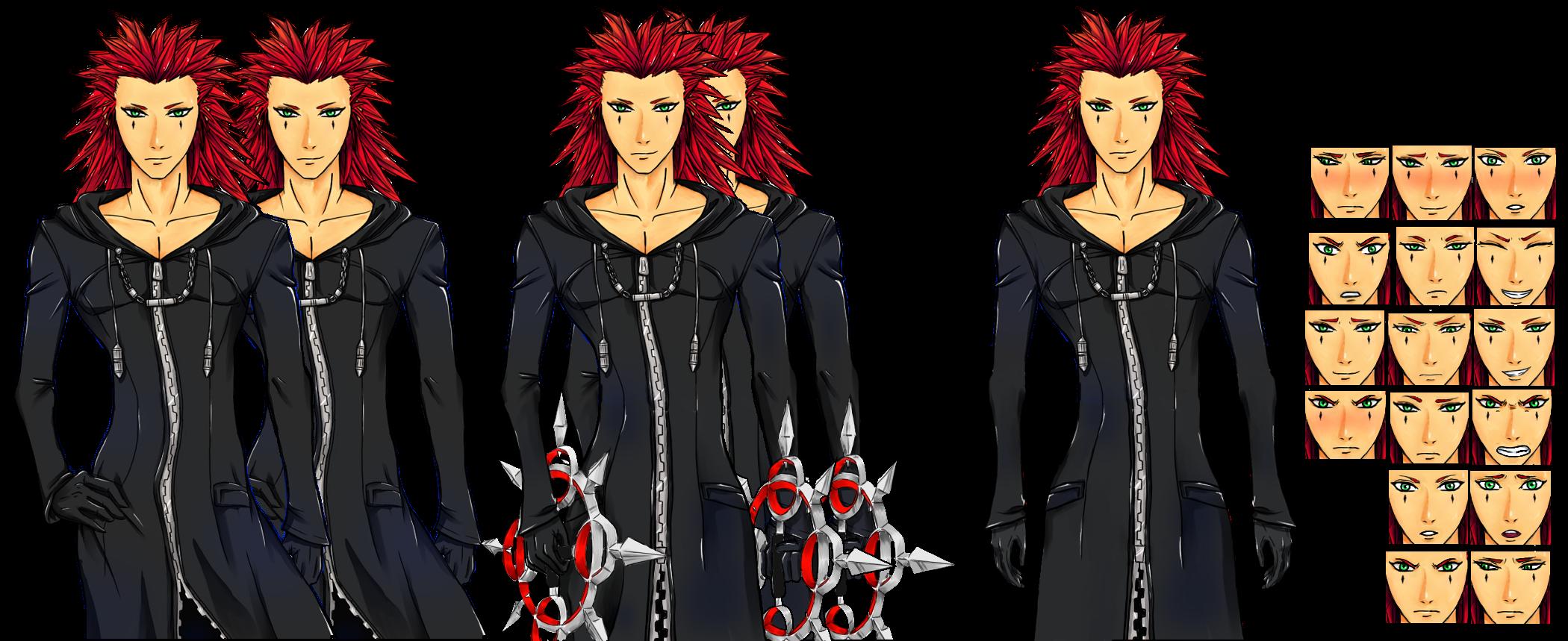KH Sim Date: Axel by axelhotfire