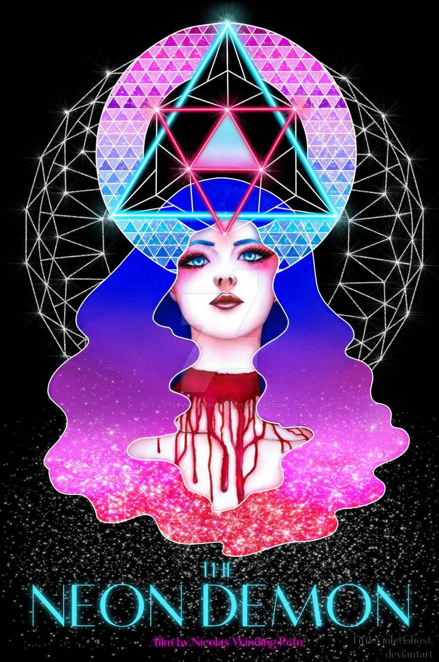 THE NEON DEMON poster by LittleVioletGhost