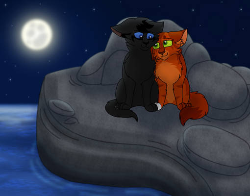 Crowpaw and Squirrelpaw Commission