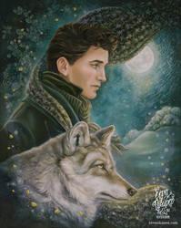 Moonlight Wanderer by eevanikunen
