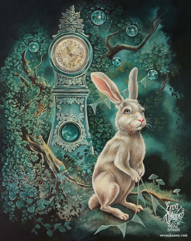 Tick Tock Goes The Clock by eevanikunen