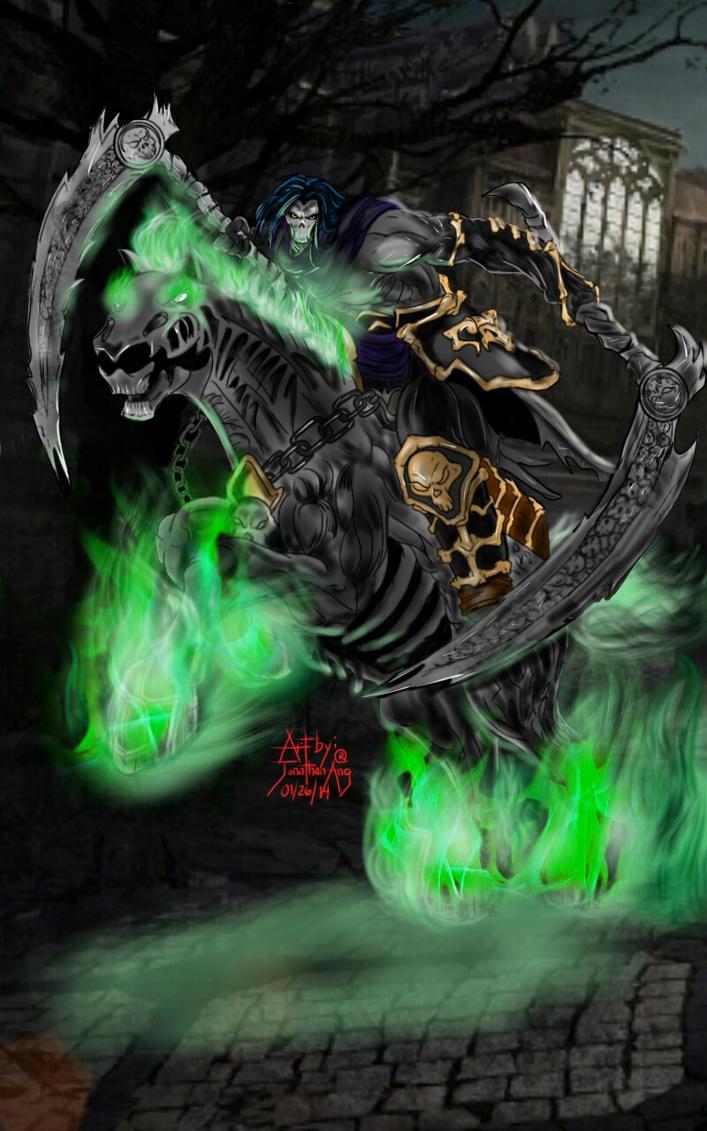 Darksiders Despair Death and Despair of D...
