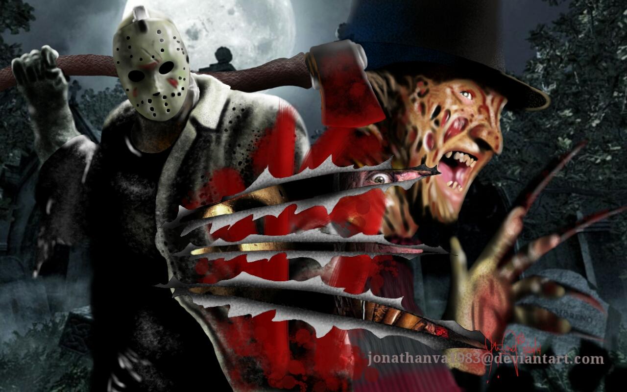 Jonathanva1983 Freddy Krueger Vs Jason Voorhees By