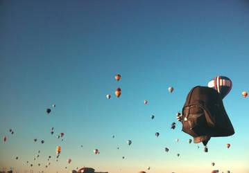 Darth Vader Balloon by CAPSLOCK44