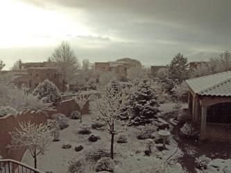 Snow Scene by CAPSLOCK44