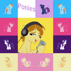 Ponies Album Cover For MandoPony