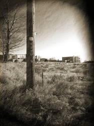 Vintage Style Telephone Pole by CAPSLOCK44
